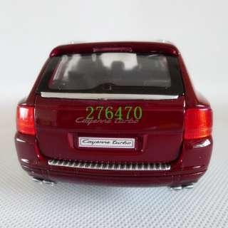 24 Welly Porsche Cayenne Turbo Alloy Diecast Red