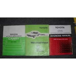 1988 1/2 Toyota Camry Service Repair Shop Manual Set (WIRING DIAGRAMS