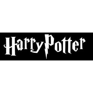 Harry Potter Car Window Decal Sticker White 6