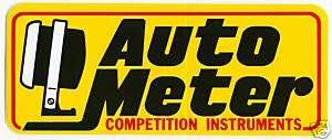 AUTO METER GAUGES RACING DECALS STICKERS NASCAR NHRA