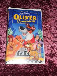 ,OLIVER & COMPANY, ORIGINAL FACTORY SEALED CLASSIC VHS,