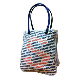SJ SUPER JUNIOR   SM Official Shopping / Canvas Bag TAIWAN LIMITED