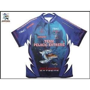 TEAM PELAGIC EXTREME TOURNAMENT FISHING SHIRT SIZE LARG