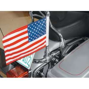 Harley Davidson Touring Motorcycles Pro Pad Flag Mount for