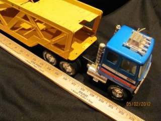 nylint GMC semi truck trailer/extra trailer/pressed steel/very cool