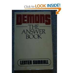 Demons The Answer Book (9780840756787) Lester Frank Sumrall Books