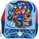 Nintendo Wii MARIO KART School Toddler BACKPACK Bag New Super