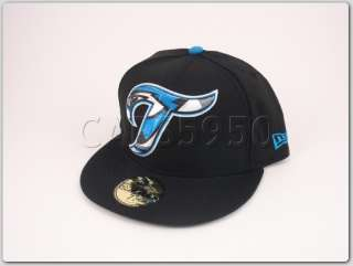 Toronto Blue Jays New Era Fitted Hat 5950 Cap Big Logo