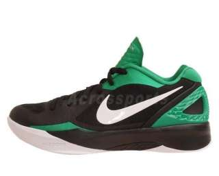 Nike Zoom Hyperdunk 2011 Low Black Green New Mens Basketball Shoes