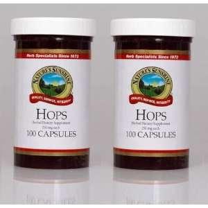 Naturessunshine Hops Supports Nervous System Herbal Food