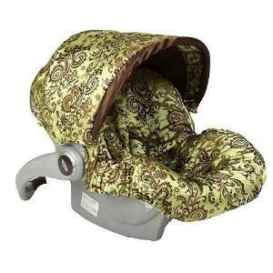 Baby Bella Maya Caramel Apple Infant Car Seat Cover Baby Bella