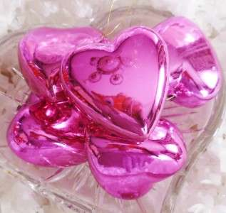 12 Sock Hop Pink Valentines Day Wedding Heart Pillows Feather Tree