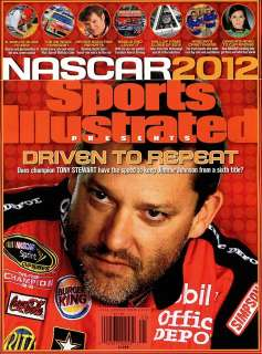 2012 Nascar car racing preview with Tony Stewart, Jimmie Johnson, over