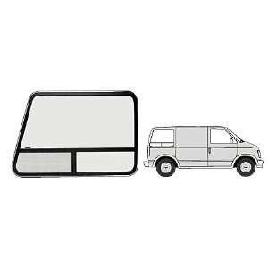 CRL Accent Frame T Slider Window   Passenger Side Rear 1985+ Chevy