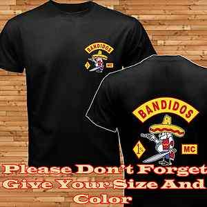 SALE SYLB BANDIDOS MC T SHIRT : S 3XL BUY 2 GET BANDIDOS WATCHES $15