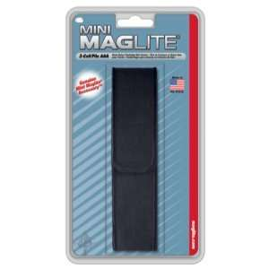 MagLite   Nylon Full Flap Holster, AAA: Sports & Outdoors