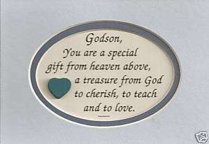 TREASURE Gift GOD Cherish LOVE Teach Baptism verses poems plaques