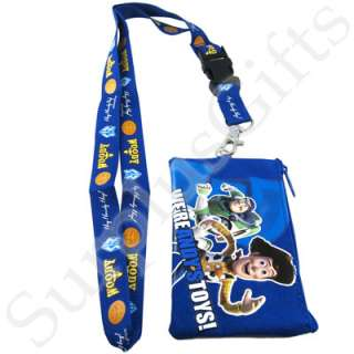 You are buying one brand new Disney Toys Story Woody and Buzz Lanyard
