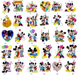 Mickey Minnie Family Gang Return Address Label Gift