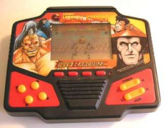 Tiger Electronics MORTAL COMBAT BARCODZZ Electronic Handheld Hand Held
