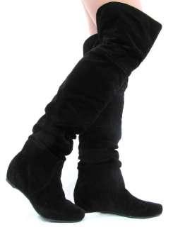 Thigh High Casual Boots OverKnee Heel Women Dress Shoes