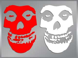 The Misfits Skull Logo cut vinyl decal stickers