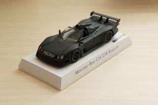 CUSTOM MODEL* KYOSHO 1/64 MERCEDES BENZ AMG CLK GTR MATTE BLACK