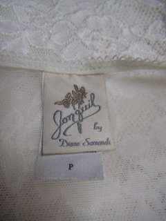 NWT Gown Robe JONQUIL  Nightgown Peignoir Set Lace