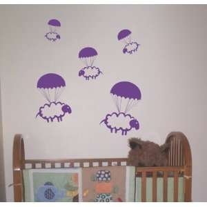 Wall Art Graphic Baby Room Count Cute Animal Nursery Boy Girl Sleep