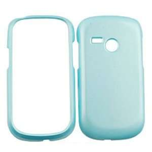 LG Saber UN200 Pearl Baby Blue Hard Case/Cover/Faceplate