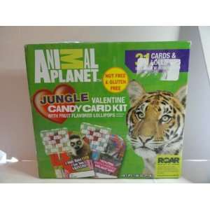Animal Planet Valentine Candy Card Kit Toys & Games