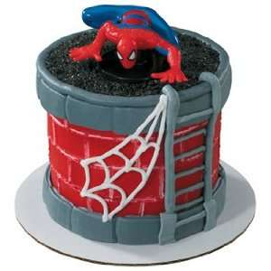 Petite Spiderman Cake Topper for Mini Cake Everything