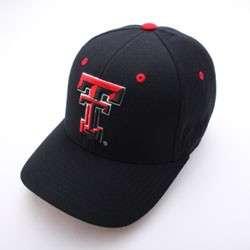 TEXAS TECH RED RAIDERS HAT CAP BLK DH Tt