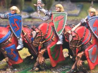 Warhammer DPS painted Bretonnian Errant Knights BR008