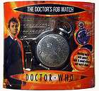 DOCTOR WHO 10TH DR ELECTRONIC FOB POCKET WATCH WITH LIGHT AND SOUND