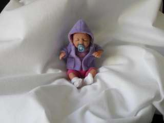OOAK Babies ♥ Hand Sculpted Art Doll ♥ An Adorable 5 inch Baby
