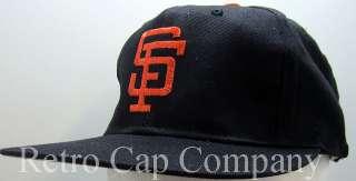 VINTAGE SAN FRANCISCO GIANTS RETRO SNAPBACK CAP