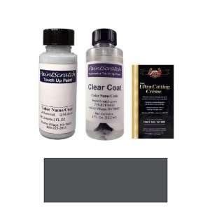 2 Oz. Medium Argent Metallic (bumper) Paint Bottle Kit for