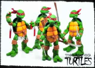 100% ORIGINAL TEENAGE MUTANT NINJA TURTLES 4PCS FIGURES
