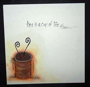 Canvas Wall Art by Rhonda KullbergFamily & Friends Gift  Tea Cup