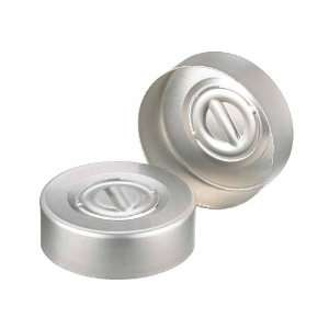 Wheaton 224187 01 Natural Aluminum Center Disc Tear Out Unlined Seal