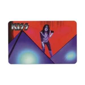 Collectible Phone Card KISS Rock & Roll Band   Ace