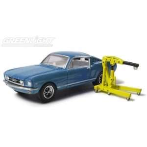 1965 Ford Mustang Fastback w/accessory 1/64 Light Blue