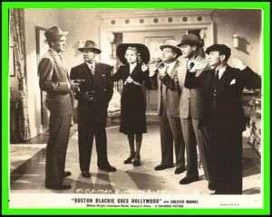 CHESTER MORRISS Boston Blackie Goes Hollywood Or.1942