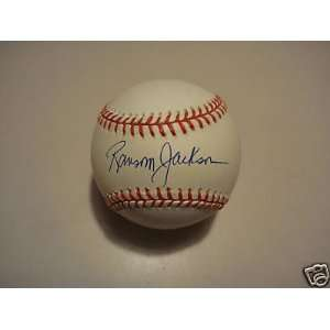 Ransom Jackson Brooklyn Dodgers Signed Official Ml Ball   Autographed