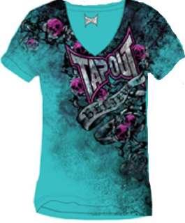 TAPOUT Shirt Skull Petal Tee Girl Junior TorqueT shirt 789139808359