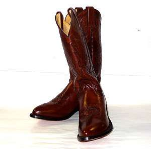 159 Dan Post Mens Mignon Antique Tan Western Cowboy Boots DP2111 J