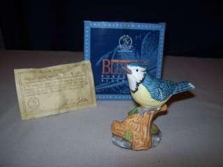 BLUE JAY BIRD WHITEHALL SOCIETY BLUEJAY AUDUBON WINGS