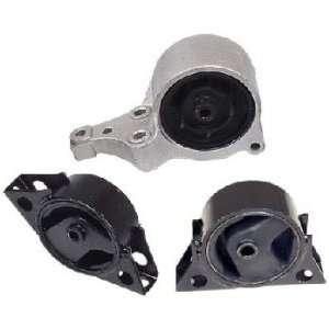 93 01 Nissan Altima 2.4 Engine Motor Mounts Set 3