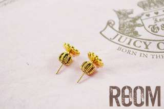 Auth Juicy Couture Tiny Daisy Stud Earrings